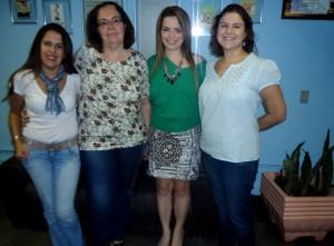 Rosiley Lourenço, Beatriz Vicentini, Jacqueline Santana e Patrícia Polacow