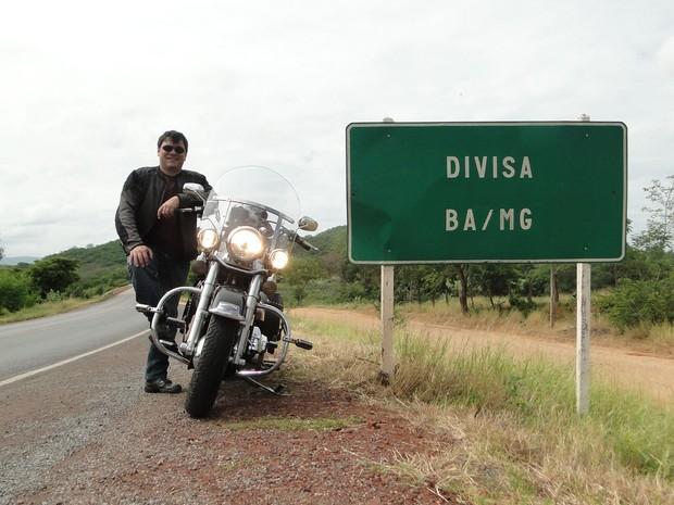 """Rômulo Provetti é experiente em viagens com moto: """"O mais importante é planejar"""" (Foto: Arquivo Pessoal)"""
